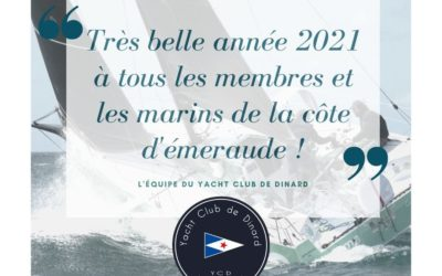 Très belle et heureuse année 2021 !