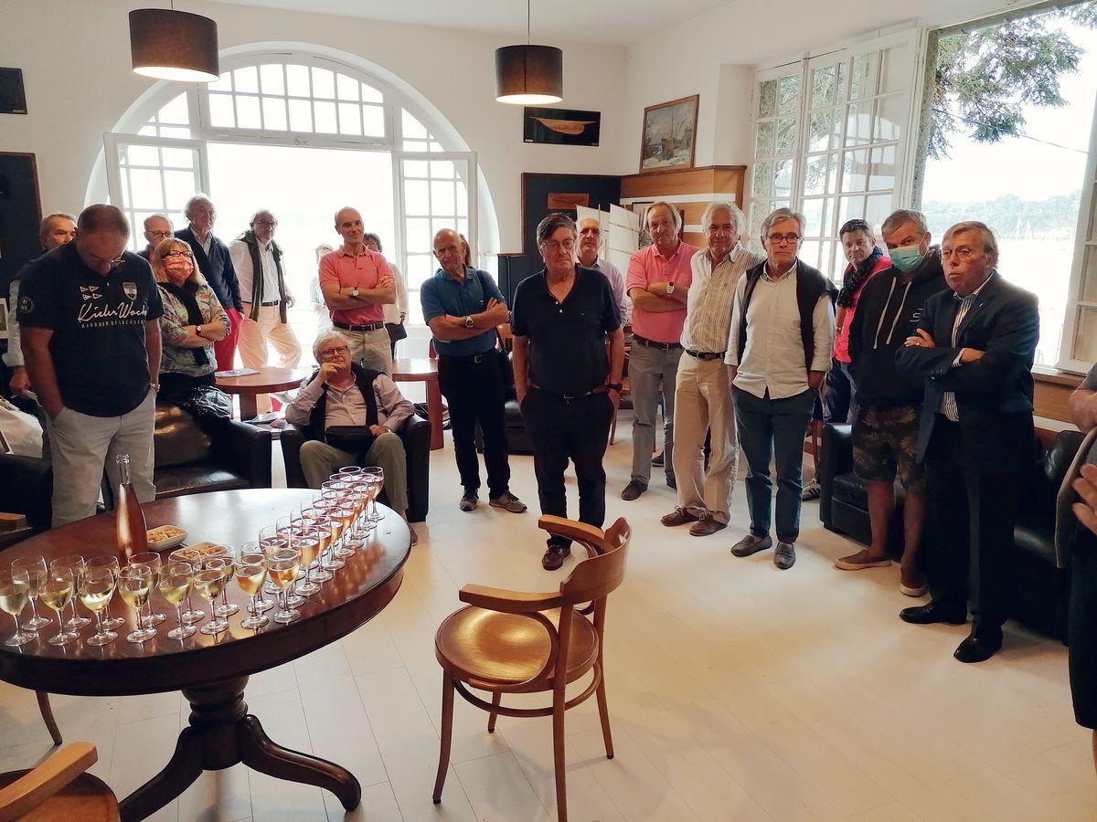 Pot de l'amitié et élection du Bureau du Yacht Club de Dinard en 2020