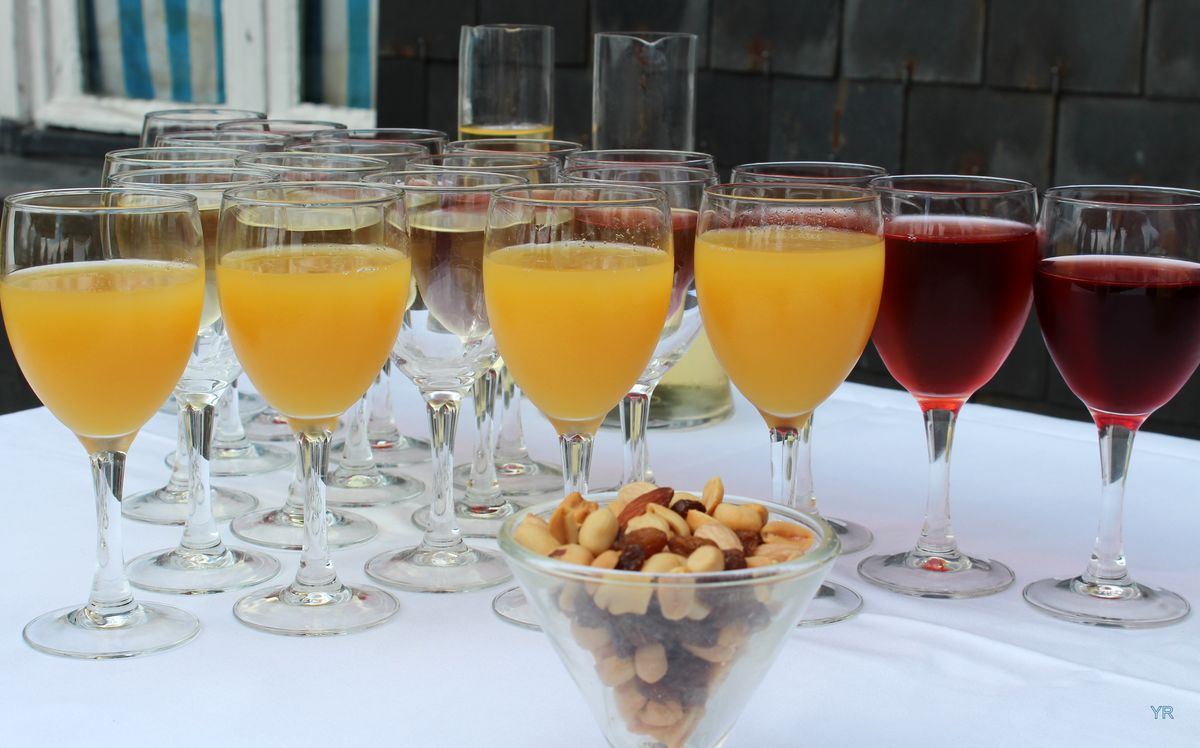 Cocktail au Yacht Club de Dinard
