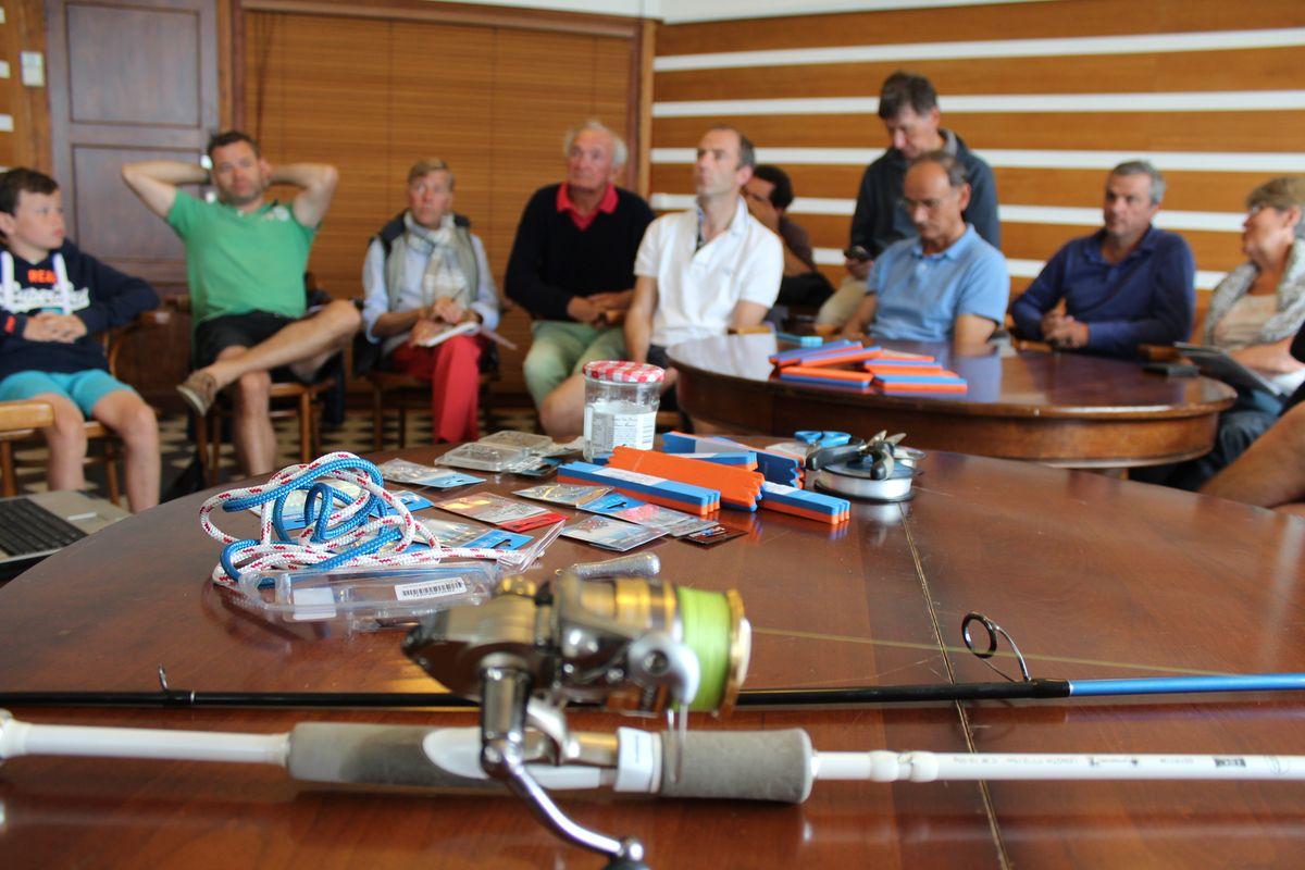 Formation au Yacht Club de Dinard