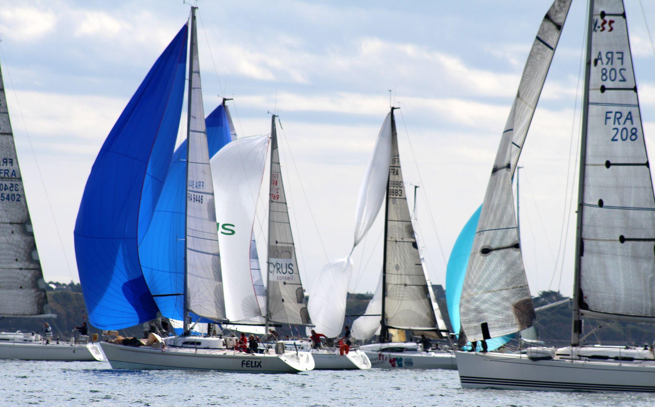 Régate 100 miles et une nuit du Yacht Club de Dinard