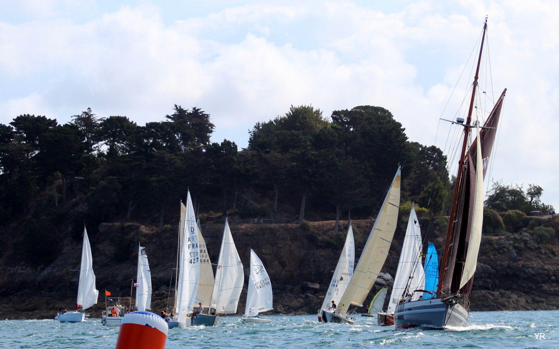 Régate Rance Frémur du Yacht Club de Dinard