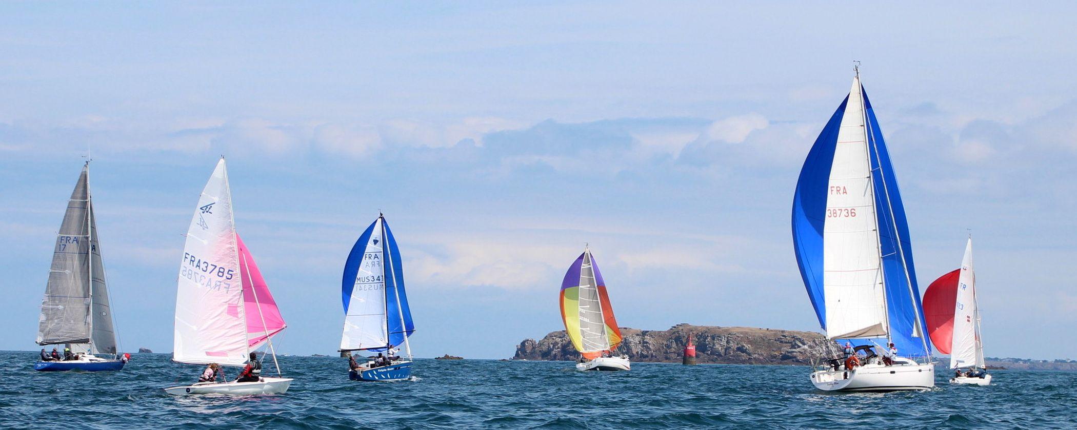 Régate Tour de Cézembre du Yacht Club de Dinard