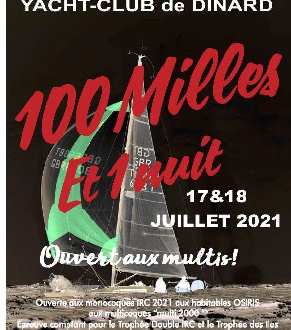 RDV les 17 et 18 juillet pour les «100 milles et une nuit» !