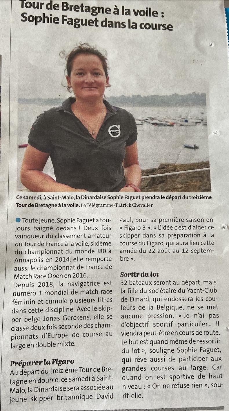 Tour de Bretagne Sophie FAGUET