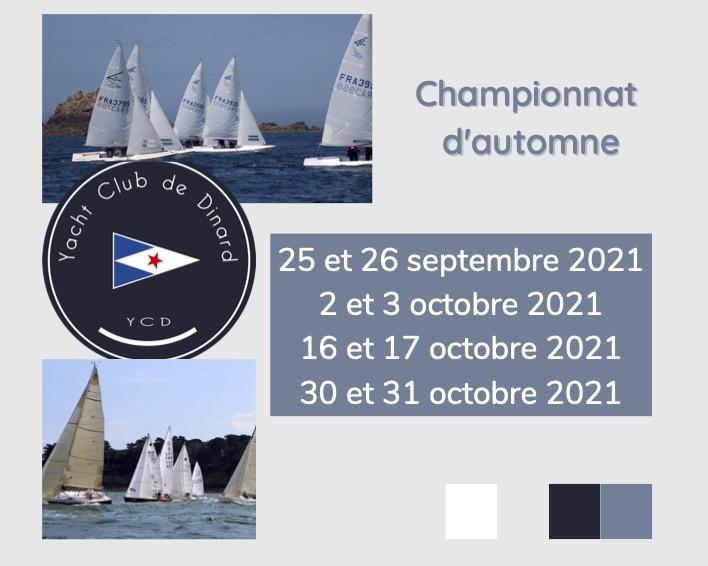 dates championnat automne